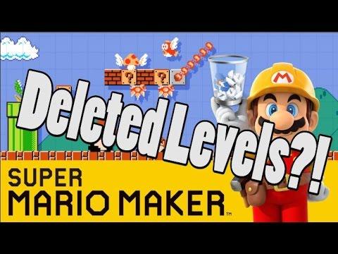Super Mario Maker Levels Still Being Deleted Randomly?