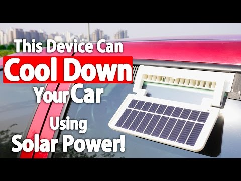 Now You Can Cool Your Car Using This Solar Ventilator! (Kulcar 3)