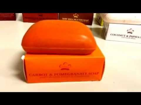The Nubian Heritage Bar Soap Carrot & Pomegranate and Benefits: