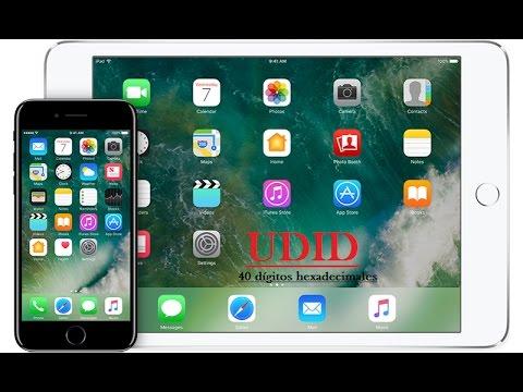 Como saber el UDID de mi iphone o ipad bloqueado sin itunes