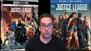 Justice League Blu-ray Covers Revealed