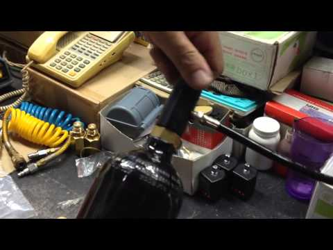 How to refill a C02 cylinder from a mother tank