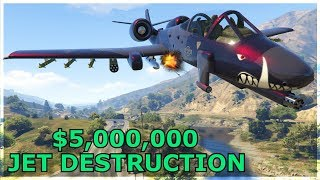Destroying Players In A B-11 Strikeforce! (gta 5 Online)