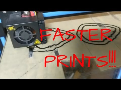 $10 Upgrade for Your CR10 for FASTER Prints
