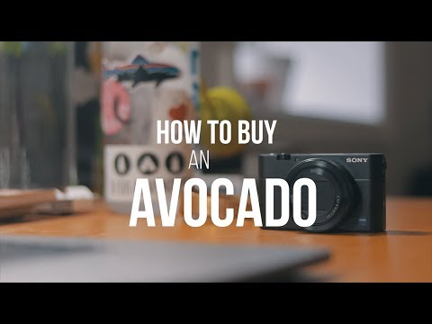 HOW TO BUY AN AVOCADO