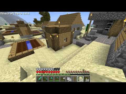 Minecraft  1.8.1 EP007 Textures and Minecarts