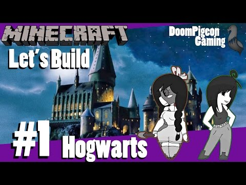 Minecraft: Let's Build Hogwarts #1 - The Boat House