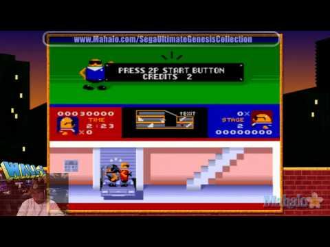 Sega Ultimate Genesis Collection - Bonanza Bros.