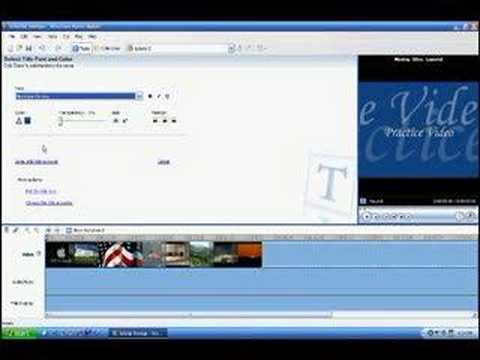 How to Make a Movie on Windows Movie Maker