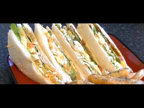 CHICKEN SANDWICH SPREAD *COOK WITH FAIZA*