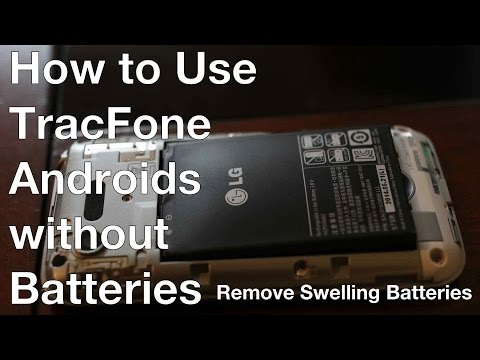 How to Use TracFone Androids (LG Optimus Fuel, LG Exceed 2) without the Battery