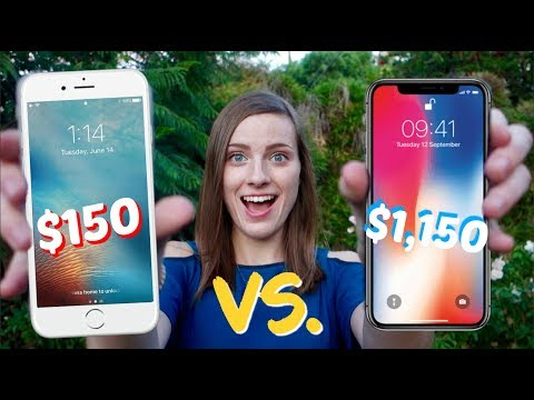 $150 iPhone VS. $1,150 iPhone! Cheap vs. Expensive