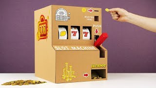 Handmade Fully Working Slot Machine And More Cool Inventions
