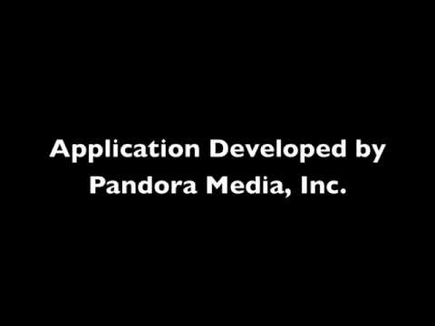 Pandora Internet Radio iPhone Application
