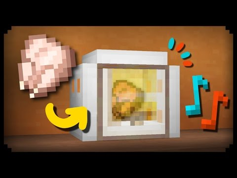 ✔ Minecraft: How to make a Working Microwave