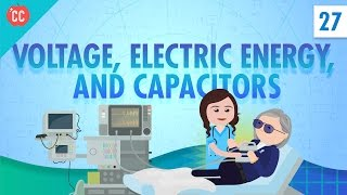 Download Voltage, Electric Energy, and Capacitors: Crash Course Physics #27 Video