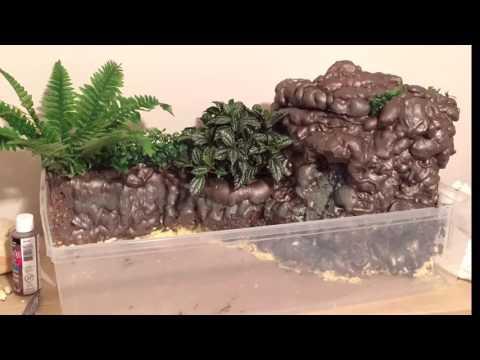 DIY Fish Fountain Build   Paludarium Build   Fish Pond