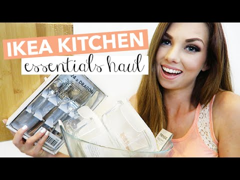 IKEA Kitchen Essentials Haul | Rachelleea