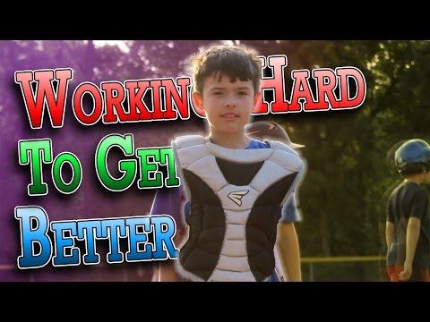 GETTING BETTER AT BASEBALL | ERIKTV365