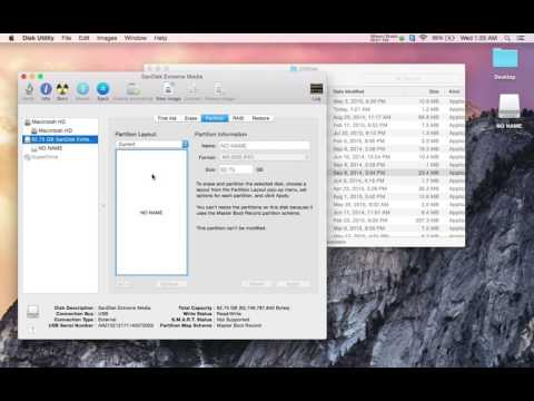 How to format a flash drive for Mac