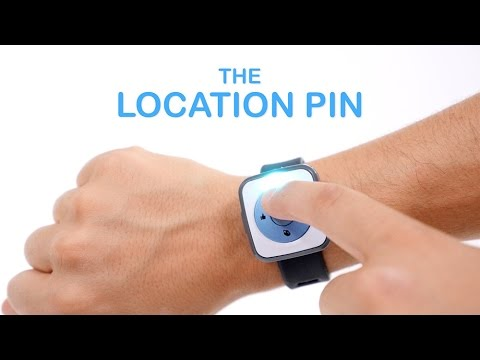 CHiP SmartBand Tutorial 03: The Location Pin