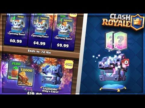 YOU WONT BELIEVE THESE OFFERS! BUYING ALL LUNAR NEW YEAR OFFER PACKS IN CLASH ROYALE!