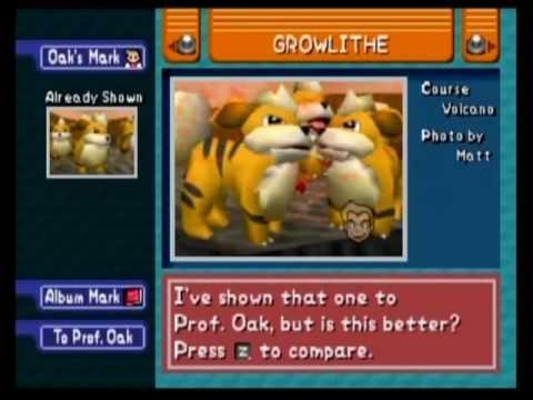 Pokemon Snap - Growlithe World Record Strategy