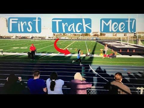 First Track Meet!