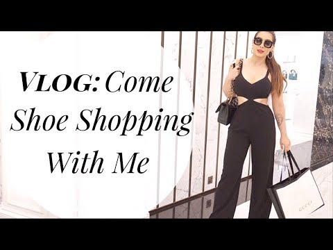 Vlog: Come Luxury Shoe Shopping With Me | Gucci, Chanel, Miu Miu