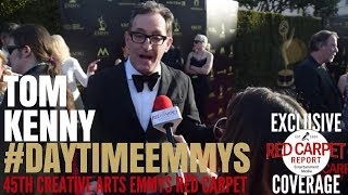 Tom Kenny #SpongeBob interviewed at the 45th Annual Daytime Creative Arts Emmy Awards #DaytimeEmmys