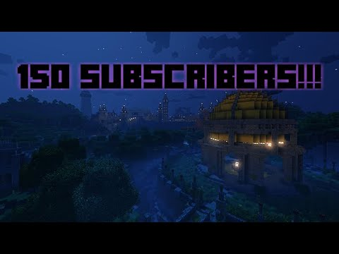 150 SUBSCRIBERS!!! THANK YOU!!!