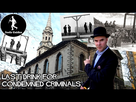 Final Drink for Condemned Criminals at St. Giles in the Fields