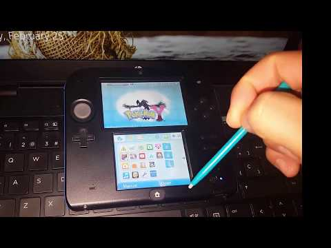 How To Start A New Game in Pokemon Nintendo 3Ds/2Ds