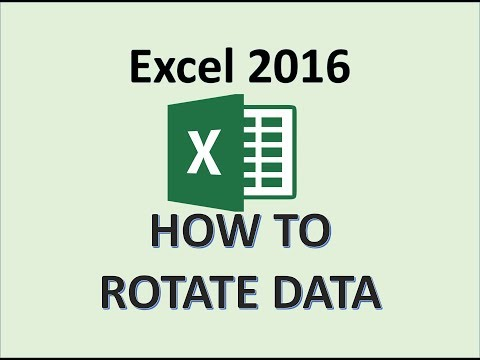 Excel 2016 - How To Rotate Text Labels - Move Cells and Cell Data Contents in Excel Sheet Office 365