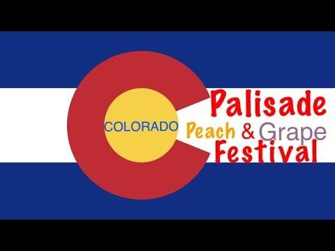 Palisade Peach and Grape Festival, Riverbend Mesa County Colorado