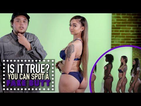 Xxx Mp4 You Can Spot A Fake Butt Is It True 3gp Sex