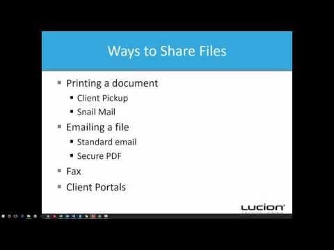 FileCenter Portal: Sharing Part 1: Basics of File Sharing