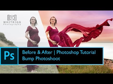 Photoshop - Fine Art Maternity Photoshoot