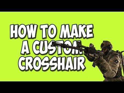 CSGO How To Create A Custom Crosshair (CSGO TUTORIAL)