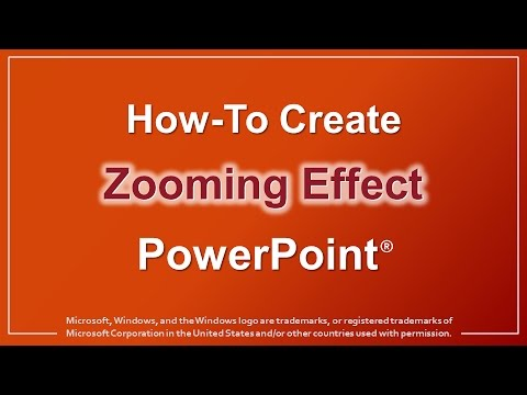 How to Create Zooming Effect in PowerPoint