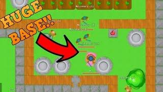 GLOR.IO - BIGGEST BASE EVER!! // New .IO Game // (Like Moomoo.io)
