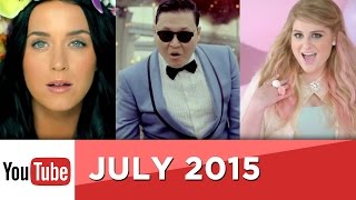 Top 10 Most Viewed YouTube Videos Of All Time - July 2015