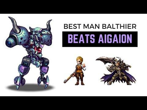 Balthier, Dark Veritas, Orlandeau, CG Fina, Lunera, White Knight Noel VS Aigaion | FFBE