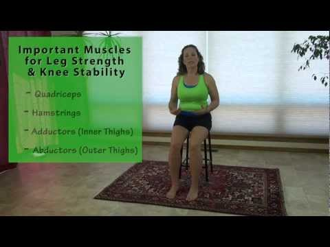 Improving Knee Strength & Stability - Seated Inner & Outer Thigh Exercise