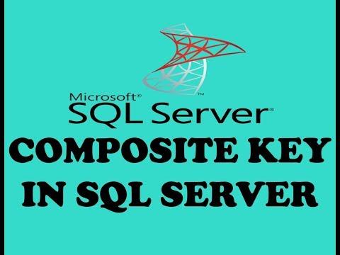 COMPOSITE KEY OR COMPOSITE PRIMARY KEY IN SQL SERVER (URDU / HINDI)