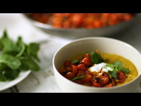 Golden Dal with Gingered Tomatoes- Healthy Appetite with Shira Bocar