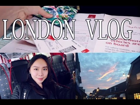 LONDON • OXFORD VLOG 1 | Galaxy C