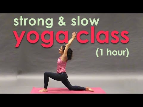 Strong, Slow Yoga Class with Maggie Grove