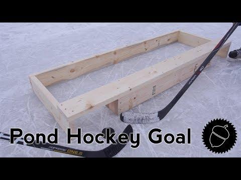 How to Build a Pond Hockey Goal!