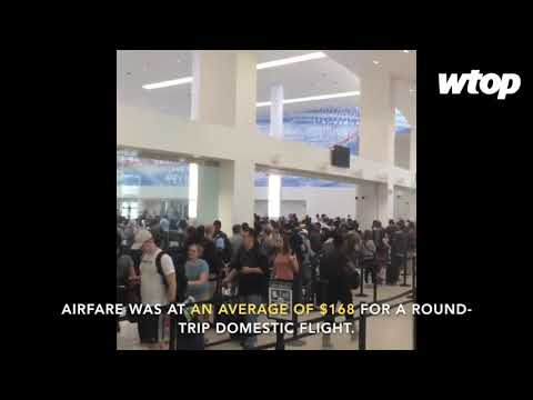 Memorial Day weekend brings large crowds to airports